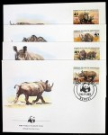 Centrafricaine_0985-0988_FDC-WWF